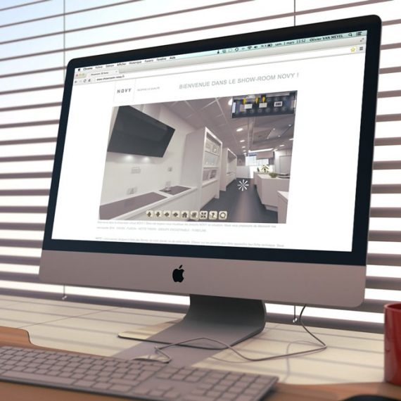 Showroom virtuel 3D