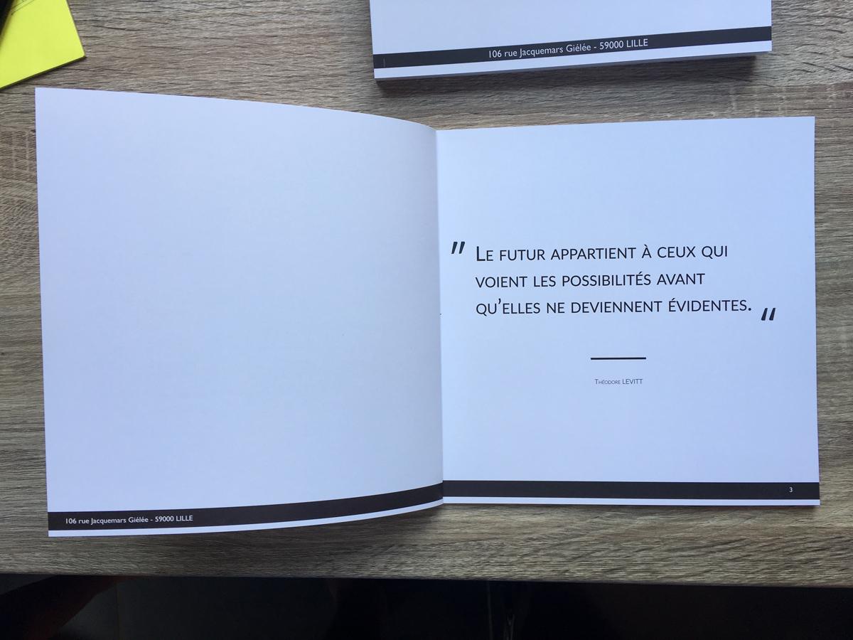 book présentation