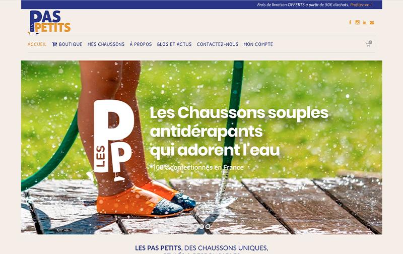 Les Pas Petits ecommerce
